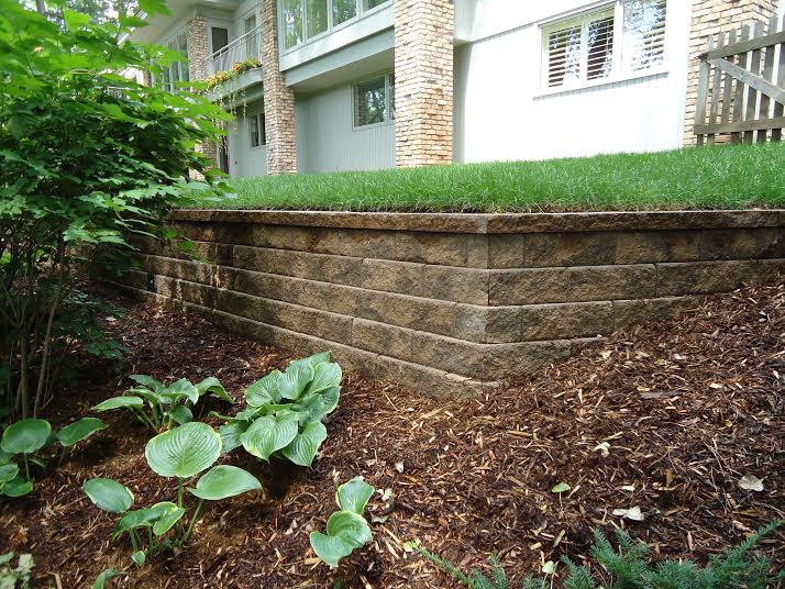 Landscaping - Retaining Wall