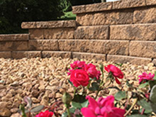 CNR Landscaping - Retaining Wall - Block and Rock